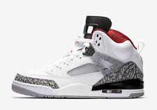Nike Men's Jordan Spizike Shoe NEW AUTHENTIC White/Cement Grey/Black/ 315371-122