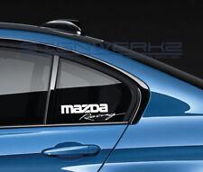 Mazda Racing Decal Sticker logo JDM Mazdaspeed RX-7 RX-8 Miata MX-5 CX-5 Pair