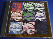 3D Picnic (Three D ) Dirt ( Carolyn Edwards)  CD RAR!