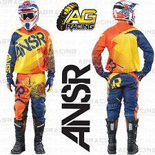 Answer 2015 Syncron Naranja Amarillo Camiseta Pantalón Combo Kit De Carrera Motocross Enduro