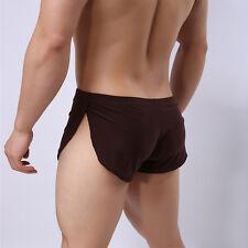 Hot Men Loose Underwear Pajamas Running Sports Sleepwear Shorts Trunks S M L