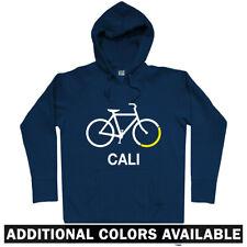 Bike California Hoodie - Hoody Men S-3XL - Bicycle Cycling Cali LA SF San Diego