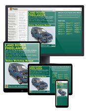 Land Rover Freelander (1997-Oct 2006) R to 56 Haynes Online Manual