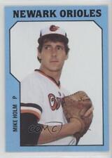 1985 TCMA Minor League #824 Mike Holm Newark Orioles Rookie Baseball Card