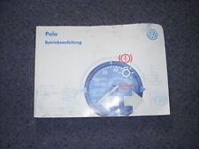 Betriebsanleitung VW Polo  Manual de Instrucciones spanische Ausgabe 1997