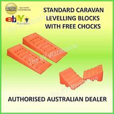 Levelling Blocks Standard Ramps  Caravan New Camper RV Motorhome