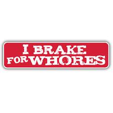 Je frein autocollant putes pour baie VW Camper hotrod split