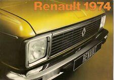 Renault 1973-74 UK Market Sales Brochure 4 5 6 12 16 15 17