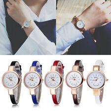 Chic Women's Quartz Analog Leather Bracelet Wrist Watch Relogio Feminino relojes