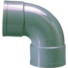 COUDE PVC 87º30 FF   -  VOIR TABLEAU DIMENSIONS