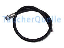 65 cm-MIFLEX inflatorschlauch-Jack Adige Porro-NERO (€ 0,58 cm Pro)