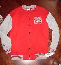 Nebraska HUSKERS Cornhusker Clubhouse Varsity  Jacket M L XL NWT Majestic USA
