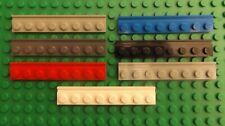 Lego 60596-Nuevo Blanco 1x4x6 Puerta Del Panel /& Marco//2 Por Pedido