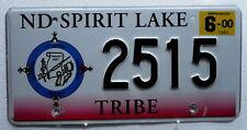 USA Nummernschild Indian - Spirit Lake Tribe. 429.