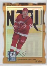 1997 Donruss Elite Promos Gold Die-Cut Status #25 Vyacheslav Kozlov Hockey Card