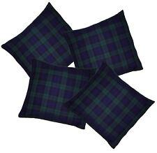 Blackwatch Blue/green Tartan Cushion Cover/Covers Burns Night Christmas
