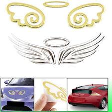 3D Angel Hawk Wings Emblem Badge Alloy Metal Logo Auto Car Decal Decor Sticker
