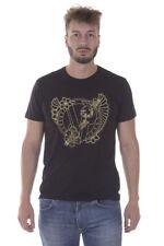 Versace Jeans Tank Top T-shirt % JERSEY COT PLUTO Herren Schwarz B3GPB774-899