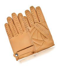 Clásico de dedos Completos Guantes de conducción real Forro de Cuero Suave Sin Chofer
