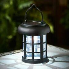 Victorian Mini Solar Powered LED Lantern Garden Light Lamp Outdoor Pathway