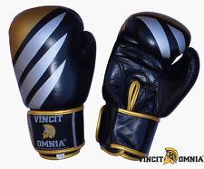 Gants gant Boxe Muay Thai Kick Boxing Vincit Omnia en cuir toutes tailles