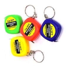 1-20 Stk. Schlüsselanhänger Mini Messband 1m Anhänger Maßband Rollmaßband NEU