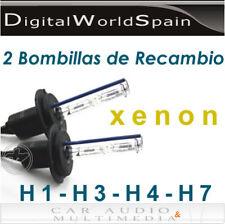 BOMBILLAS DE XENON H1 H3 H4 H7 6000K 8000K 35W A ELEGIR