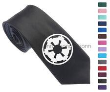 "Star Wars Empire Logo Men Woven Skinny 2.5"" Party Tie Necktie K27"
