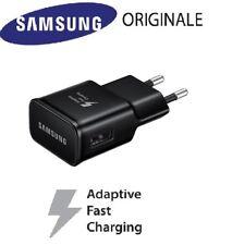 CARICABATTERIA Samsung FAST CHARGING 15W 2A per Galaxy TAB 3/4/NOTE EDGE NERO