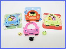 cute fun vroom vroom novelty car rubber / eraser pack