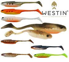 Westin Lure Fishing Shad HolowTezz 9cm 12cm Soft Holow Teez 4pcs 6pcs per pack