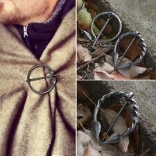 Brooch Cloak Shawl Cardigan Bronze Jewelry Retro Medieval Viking Pin Clasp Alloy