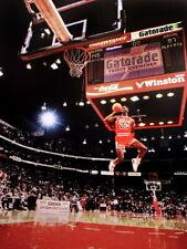 Michael Jordan Free-Throw Line Chicago Bulls Huge Giant Print POSTER Affiche