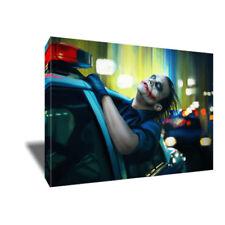 HEATH LEDGER Dark Knight Joker Canvas Joy Ride Painting Poster on CANVAS Art