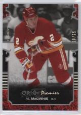 2007 O-Pee-Chee Premier Silver Spectrum 2 Al MacInnis Calgary Flames Hockey Card