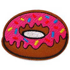 Patch Donut Donuts Sprinkles Chocolate Iron-On Patch Shabby Rockabilly 3/85