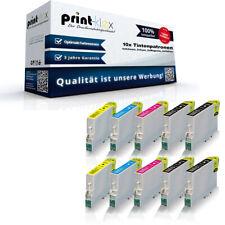 10x Kompatible Tintenpatronen für Epson Stylus D120 Farb Set - Drucker Pro Serie
