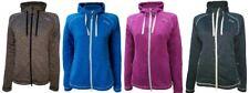 Dry fashion tricots dames Veste polaire Fehmarn avec capuche poche - Maritime