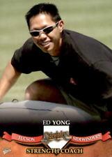2007 Tucson Sidewinders Multi-Ad #34 Ed Yong Arizona State University ASU Card