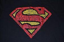 Superman LOGO Clark Kent DC Comics Adult T-Shirt Officially Licensed Merchandise