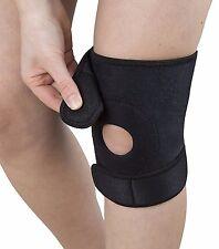 Neoprene Open Knee Patella Tendon Support Brace Sleeve Gym Sports Black All Size