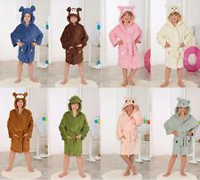 Kinder Bademantel für Mädchen und Jungen in verschiedenen Ausführungen Tiermotiv