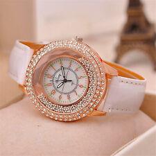 Watch Women Quartz Watch Luxury Diamond Rhinestone Quicksand Beads Casual UK
