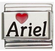 Ariel Laser Name Italian Charm Link