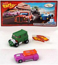 Überraschungsei Figuren Roadster Racer 2009 Auswahl BPZ AKF UeEi Hot Oldcars