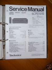 Service-Manual Technics SL-PD1010 CD-Changer,ORIGINAL