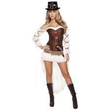 Steampunk Costume Adult Sexy Halloween Fancy Dress