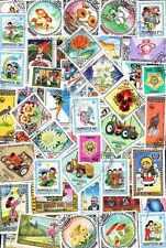 MONGOLIE - MONGOLIA collections de 50 à 1000 timbres différents