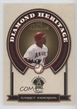 2004 Playoff Prestige Diamond Heritage #DH-13 Garret Anderson Los Angeles Angels