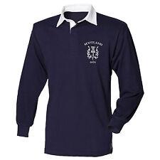 Scotland 1873 Retro Rugby Shirt Jersey Scottish 6 Nations 2017 Men Vintage  L4